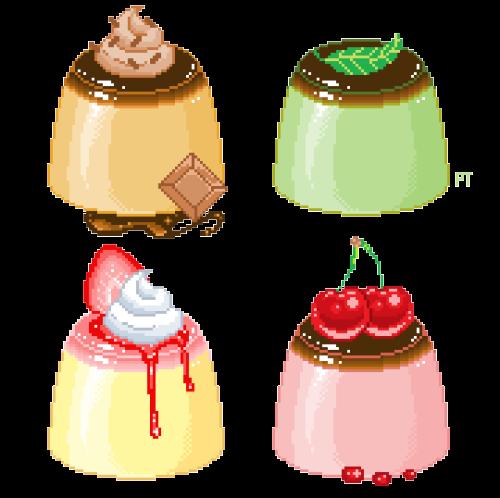 pudding。゚・  ☆゚ +