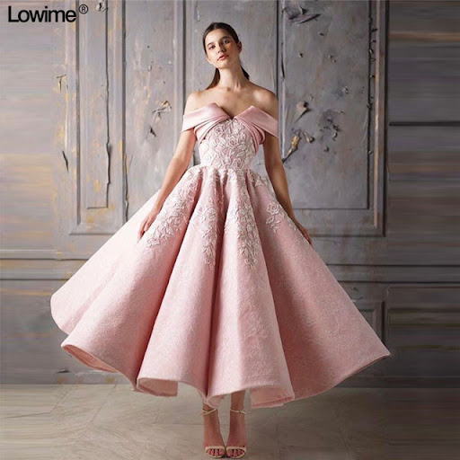 Real Photo Mermaid Cocktail Dresses V-Neck Lace Robe Cocktail Off the  Shoulder Tea-Length vestido coctel 2018. Product ID   32950241610 Price     226.59 ... c04505f34451