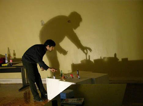 shadow artist context setup