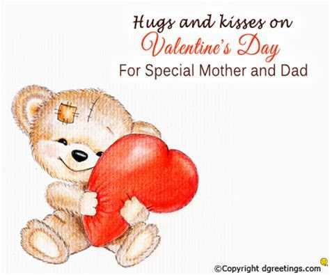For Special Mother and Dad.. Valentine's Day Family Cards
