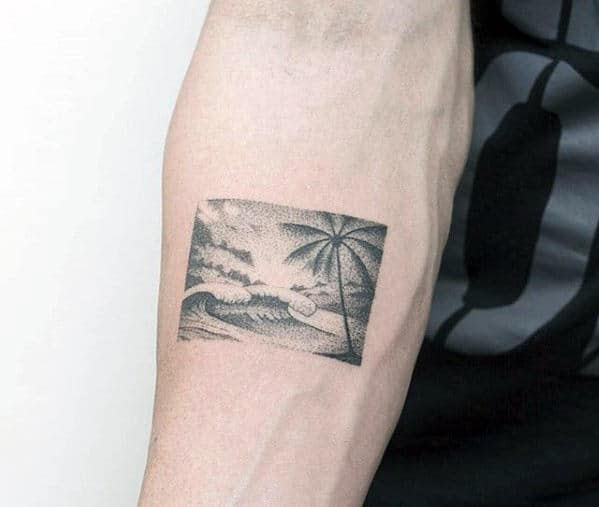 50 Badass Small Tattoos For Men Cool Compact Design Ideas