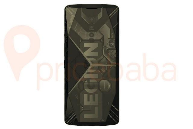 Lenovo Legion Gaming Phone Renders Show Up