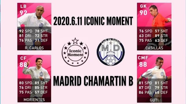 REAL MADRID ICONIC COMING SOON IN PES 21 MOBILE/PS4/PS5/PC