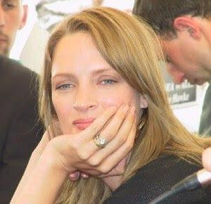 Thurman Uma at Cannes