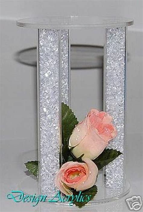 ACRYLIC CAKE SEPARATOR CAGE CRYSTAL CAKE TOPPER WEDDING