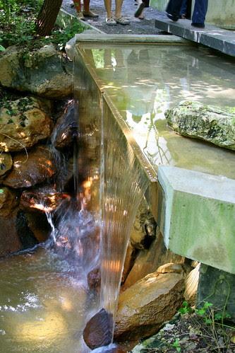 Garden on Turtle Creek fountains edge