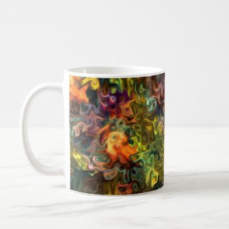 Counting Blessings Modern Art 444.1028.1212.55555 Mugs