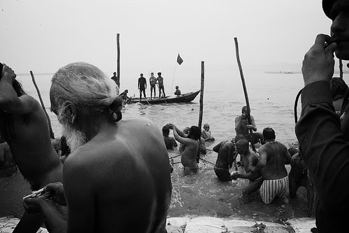 As A Photographer I Shot Peace Hope Humanity On The Banks of The Ganges by firoze shakir photographerno1