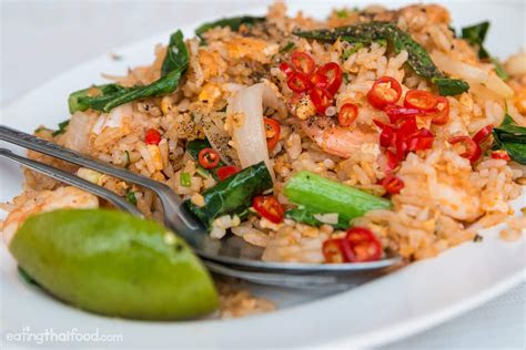authentic thai fried rice recipe street food