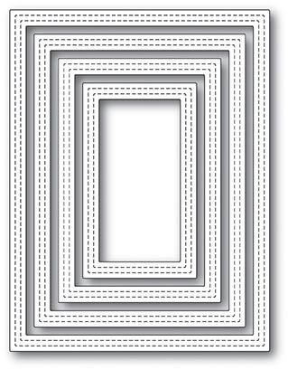 Double Stitch Rectangle Frames