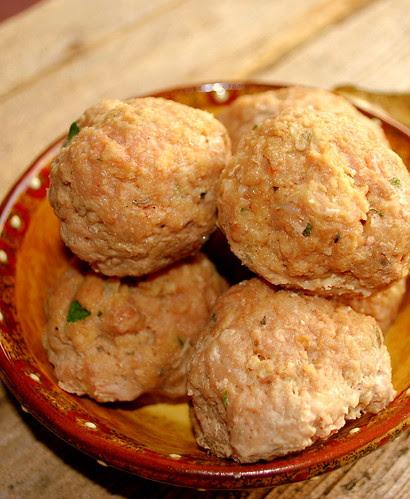 Turkey meatballs CU