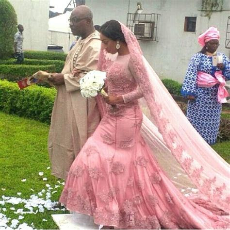 18 best Nigerian Wedding: Colored Wedding Gowns images on