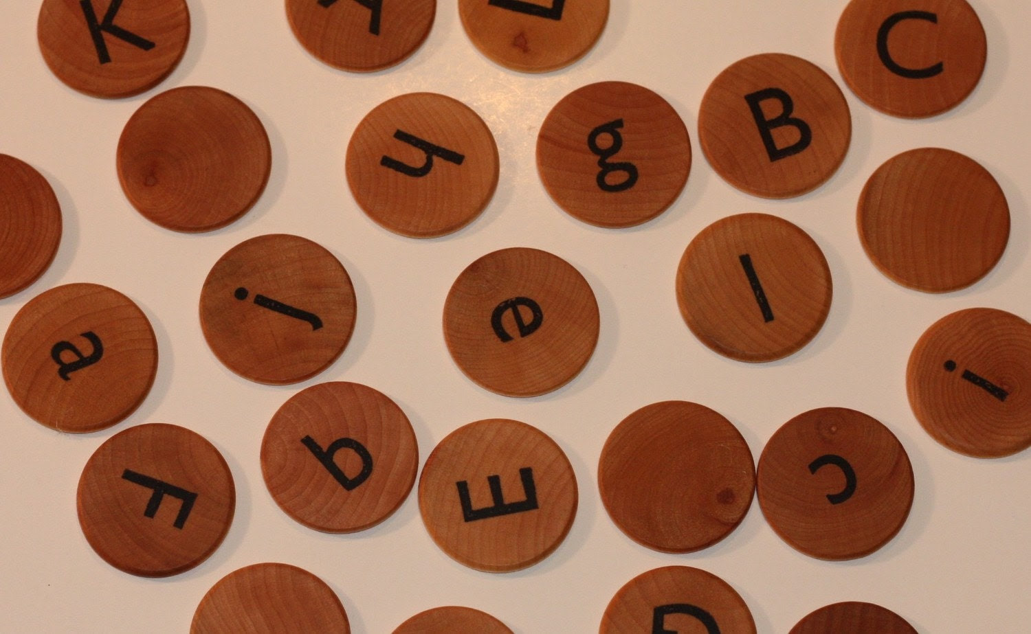 Alphabet Memory Match Game Upper and Lower Case Letters