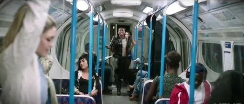 Alexandra Burke on The Tube