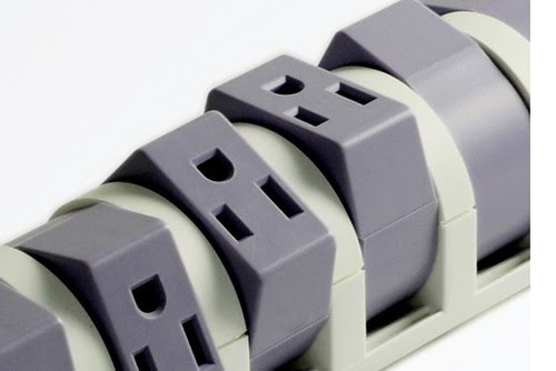 可動式電源タップ シングルノーマルタイプ S9P810C6