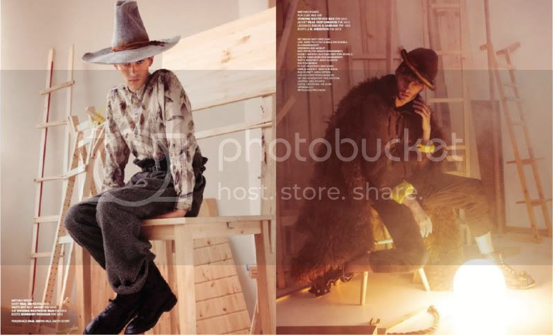 VMan Magazine #18 - Once Upon A Time @ StreetStylista.Guy