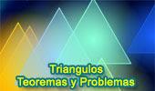 Teoremas y Problemas de Triángulos.