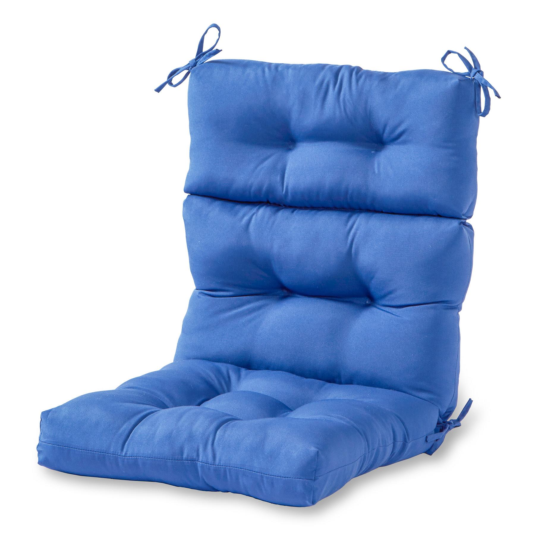 Greendale Home Fashions Outdoor High Back Chair Cushion ...