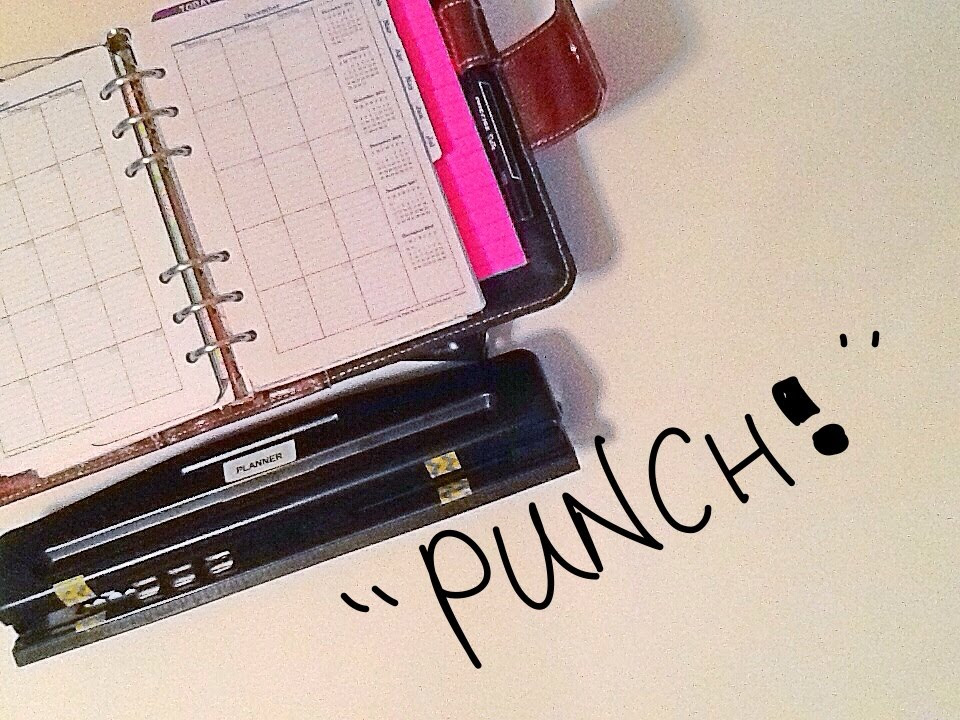 Planner Hole Punch Cheap Hack - YouTube