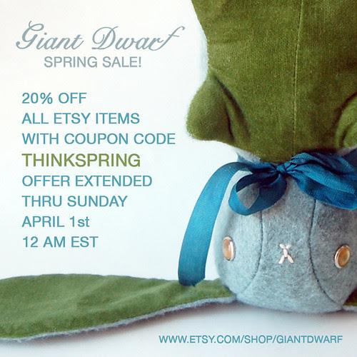 Giant Dwarf // Spring Sale