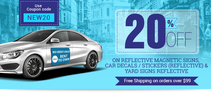 20 Off On Reflective Signs Products Bannerbuzz Blog