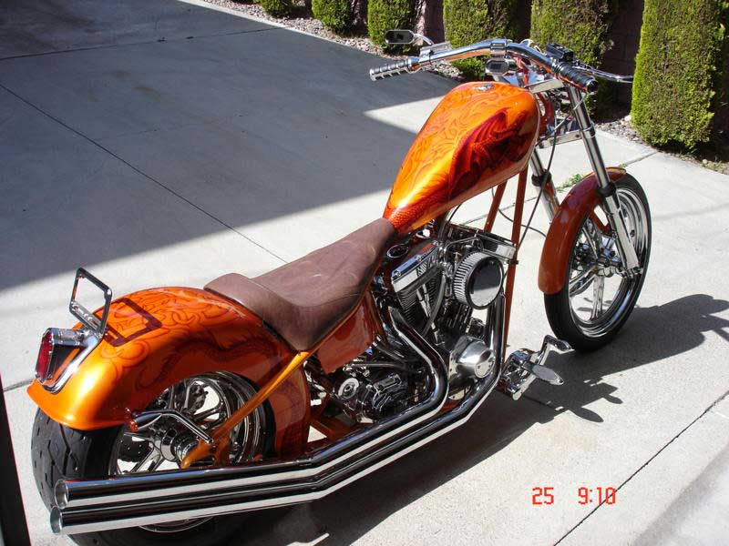 Custom motorcycle paint jobs by Bad Ass Paint