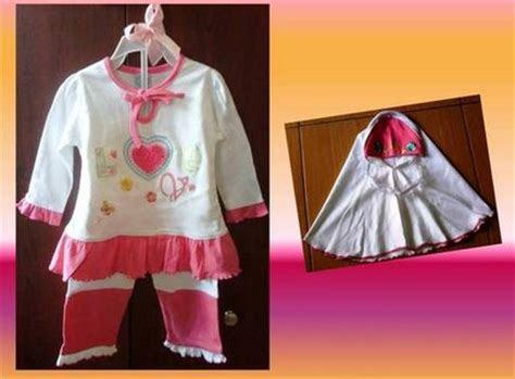 contoh model desain baju muslim bayi balita terbaru