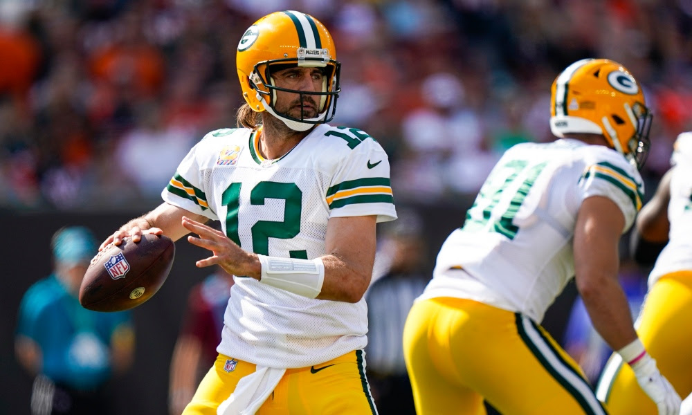 Here's the TV coverage map for Packers-Bears in Week 6