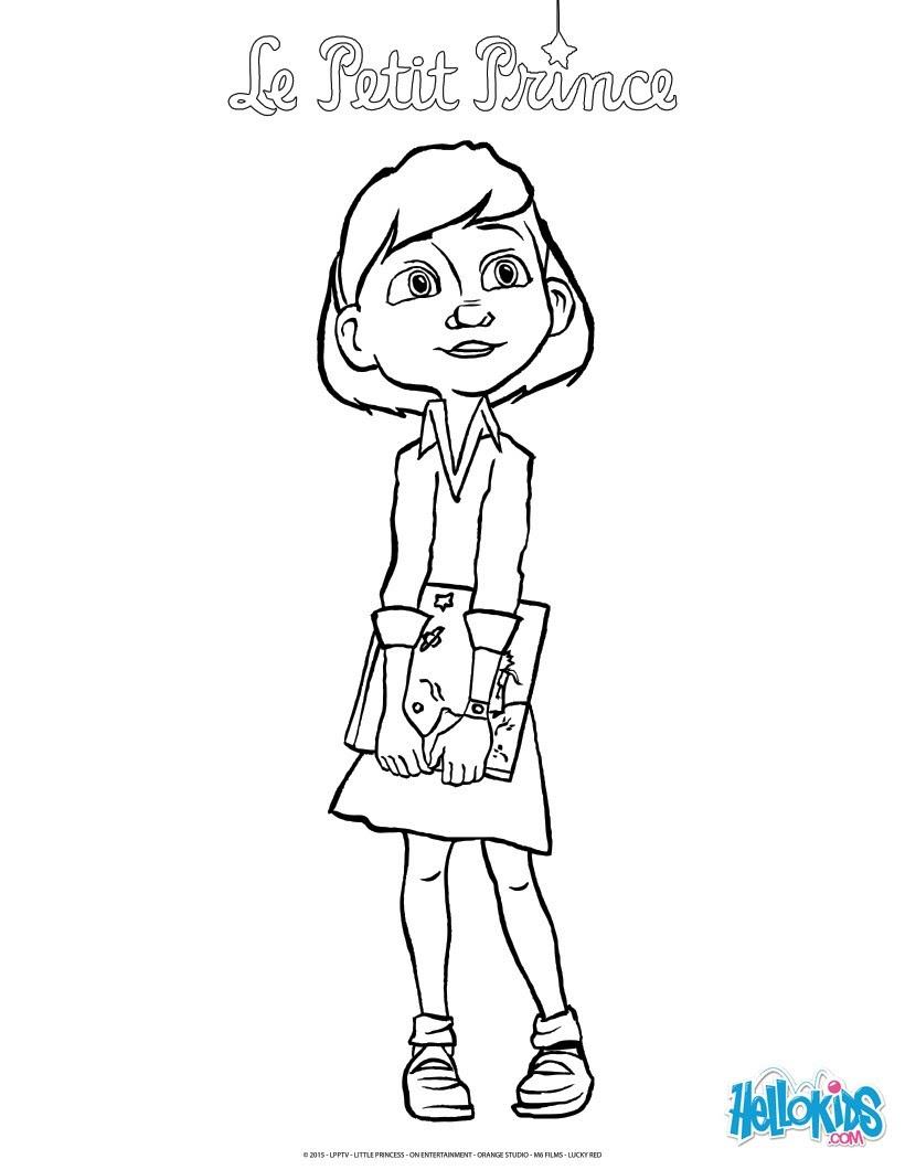 Das Mädchen und das Buch des kleinen Prinzen