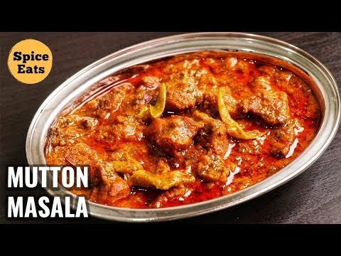 Hyderabadi Mutton Masala Recipe