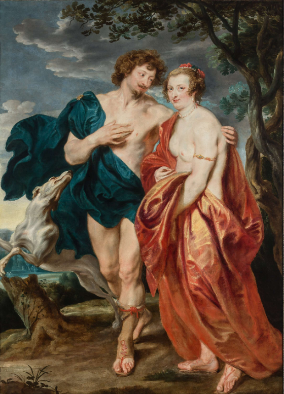 van Dyck, George Villiers and Lady Katherine Manners as Adonis and Venus