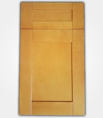 CRB: Natual Maple Shaker - ZMC Cabinets