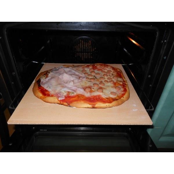 Pietra refrattaria da forno per cuocere pizza o pane - Pizza forno elettrico casa ...