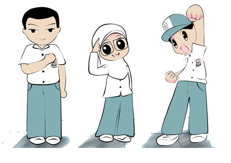 65+ Gambar Animasi Anak Sekolah Sma Keren Terbaik