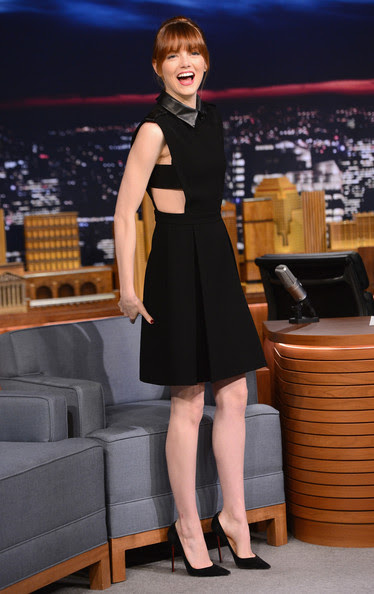 Emma Stone Visits 'The Tonight Show'