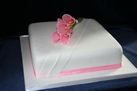 Melanie Ferris Cakes News » Single Tier Wedding Cake