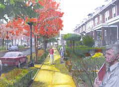 Brookland's envisioned residential area - Image from Baker Projects