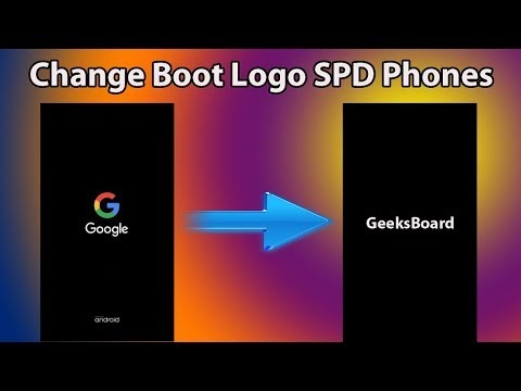 How to Change Android Boot Logo On SPD CPU Devices