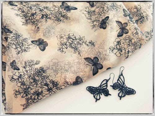 kelebek kumaş