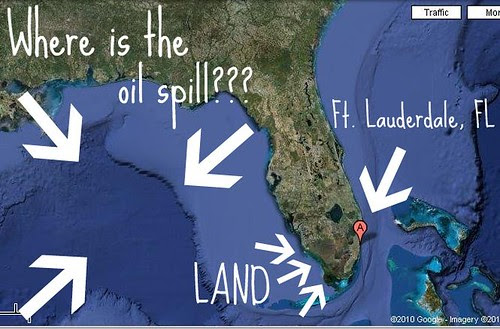Florida According to Google Maps Satellite