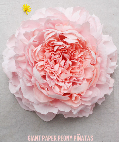 All things paper paper flowers and pinatas tiffanie turner crepe paper peony mightylinksfo