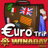 WinADay Casino Launches New Euro Slot Penny Slot with Free Chip Casino Bonus
