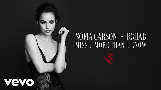 Sofia Carson, R3HAB - Miss U More Than U Know Lyrics