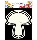 470.713.124 Dutch Shape Art Mushroom