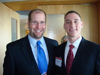 Rabbi Jason Miller and Rep. Josh Mandel