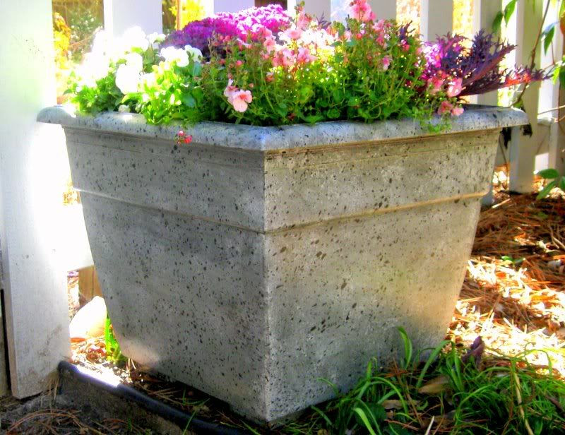 How To Faux Finish A Plastic Flower Pot Diy Home Staging Tips