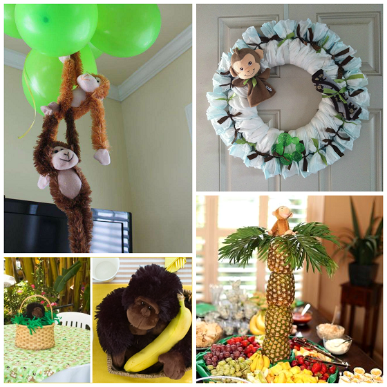 Baby Shower Monkey Theme Guide