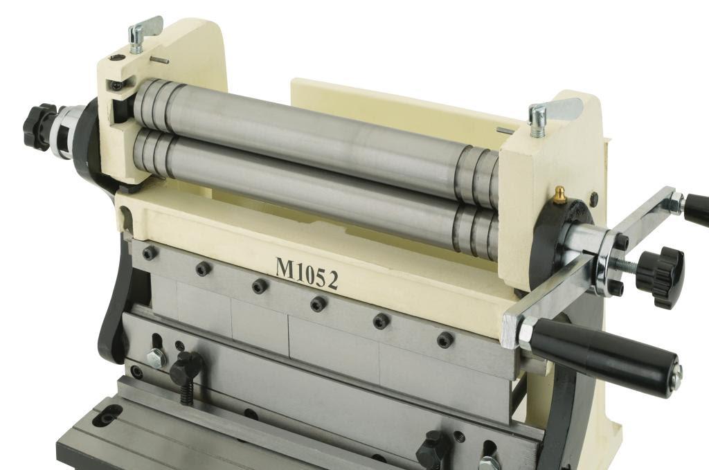 Shop Fox M1052 3-In-1 Sheet Metal Machine, 12-Inch - Power Rotary ...