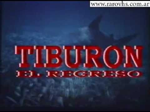 La notte degli squali 1988 (VHS Trailer Argentina)