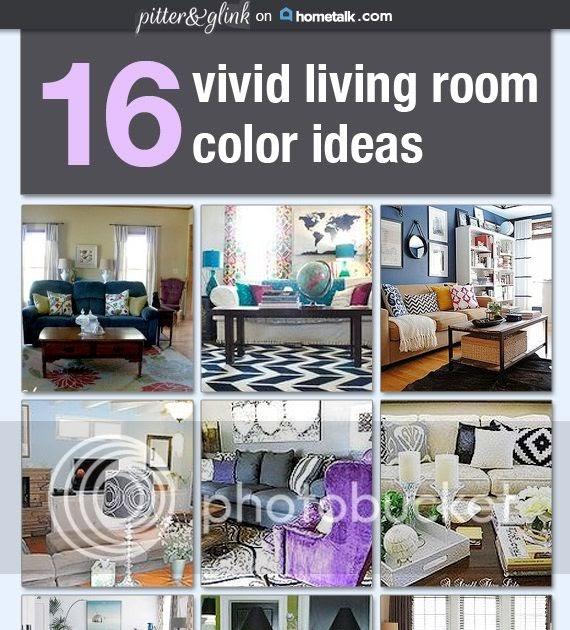 16 Functional Small Living Room Design Ideas: PitterAndGlink: {16 Vivid Living Room Color Ideas On Hometalk}